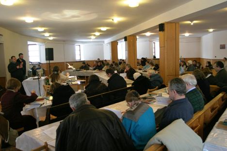 Pastors and Leaders training in Bealistok, Poland