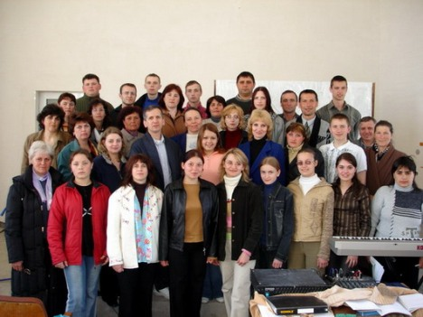 Ready to preach the Gospel in cities and villages or Moldova