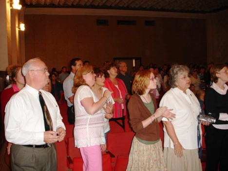 Pastor David Groves and his team from Poplar Bluff, MO, Crusade, Briceni, June 2006