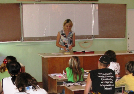 Svetlana teaching